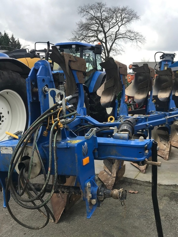 New Holland demo ploeg